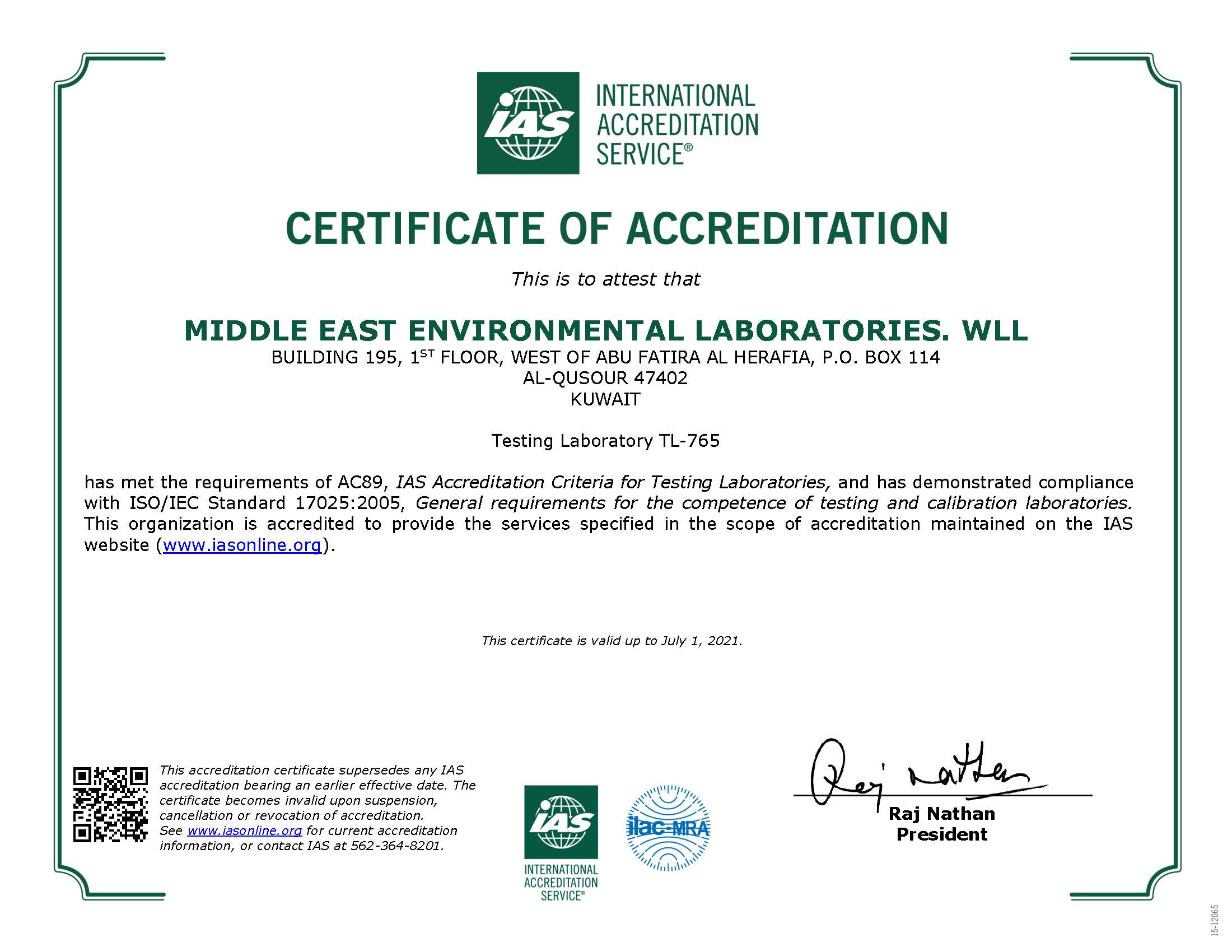 Middle East Labs: Home